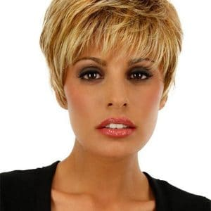 Blonde Winner Large Synthetic Wig Basic Cap