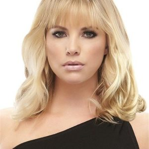 Black And Blond Easivolume Human Hair Volumizer Clip In