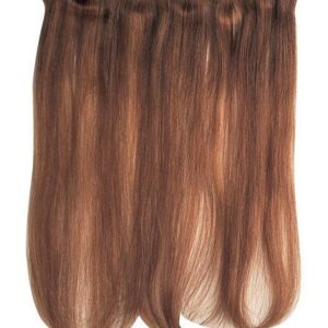 Blond And Brown Sheer Skins Human Hair Extensions