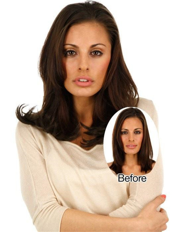 Black And Blond Easixtend Professional Human Hair Clip In