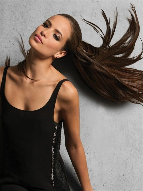Blond Human Hair Pony Around Ponytail All Hairpieces