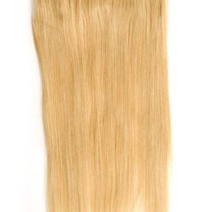 Layers Remy Human Hair Volumizer Clip In Extensions