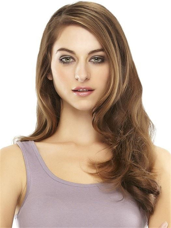 Black And Blond Easivolume Remy Human Hair Extension Clip In