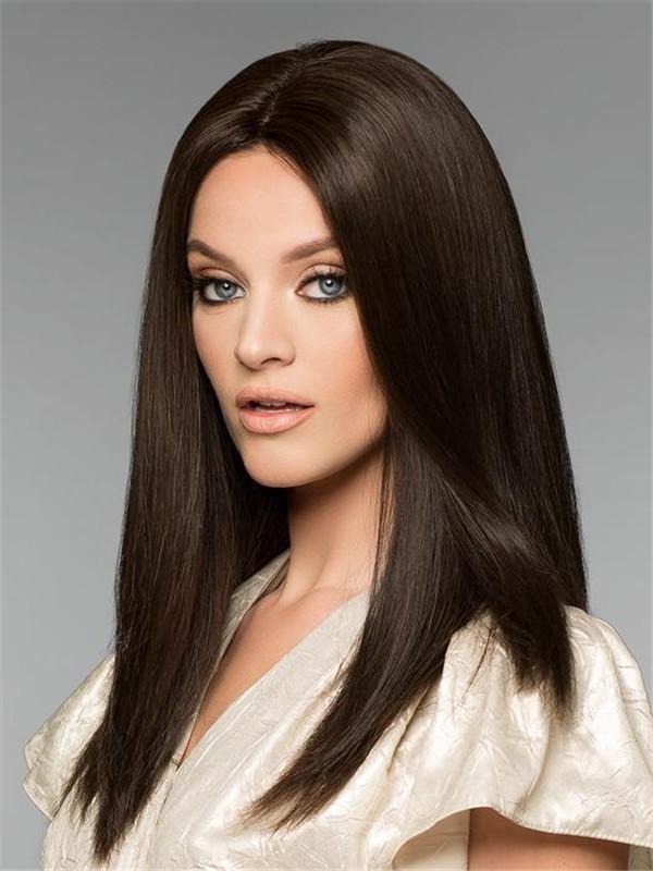 Black And Blonde Alexandra Petite Human Hair Wig For Women