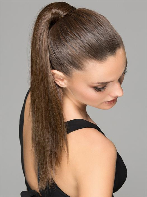 Brown And Blond Aqua Synthetic Ponytail All Hairpieces