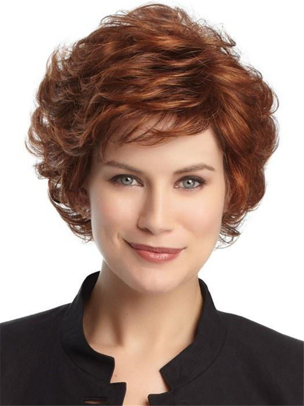 Blonde And Gray Belle Synthetic Wig Basic Cap For Women