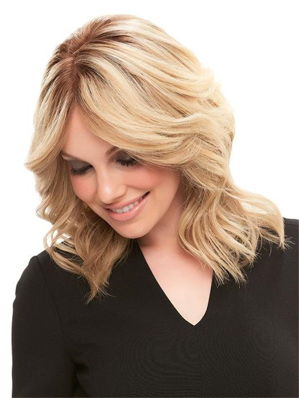 Blond And Brown Cara Exclusive Human Hair Wig