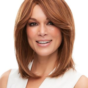 Black And Blond Cara Remy Human Hair Wig
