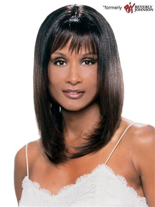 Red And Black Charli Synthetic Wig Basic Cap For Women