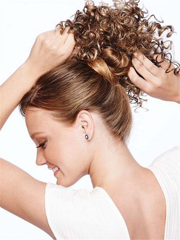 Blond Cheer Curls Synthetic Ponytail All Hairpieces