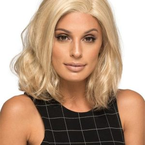 Black And Blonde Chloe Synthetic Lace Front Wig For Women