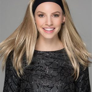 Blond Synthetic Hair Fall With Headband All Hairpieces
