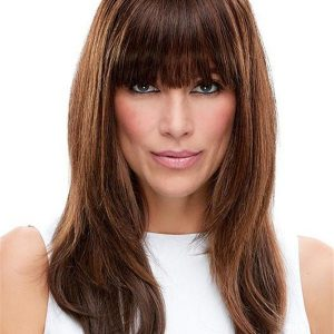 Easifringe Remy Human Hair Clip In Bangs Fringes