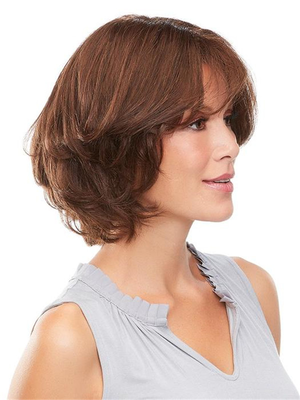Black And Blond Easipart Remy Human Hair Topper Half
