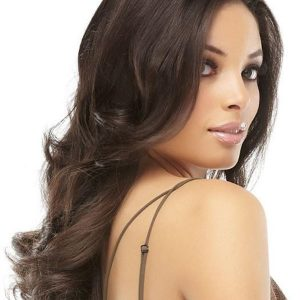 Black And Blond Easipart Synthetic Hair Topper Half