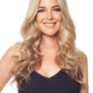 Blond Easipart Exclusive Colors Human Hair Topper Half