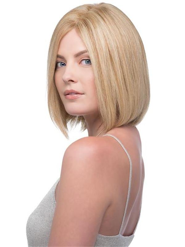 Blonde And Black Emmeline Human Hair Wig For Women