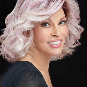 Layered Curly Synthetic Lace Front Wig For Women
