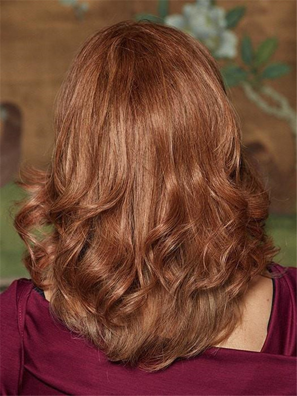 Blond Indulgence Human Hair Topper Half Rooted