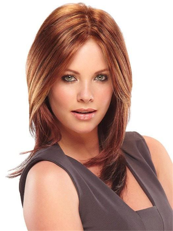 Black And Blonde Julia Synthetic Lace Front For Women