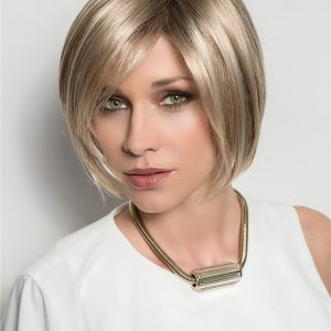 Blond Nature Human Hair Lace Front Topper Half