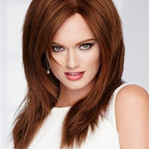 Blonde And Red Knockout 100% Human Hair Wig For Women