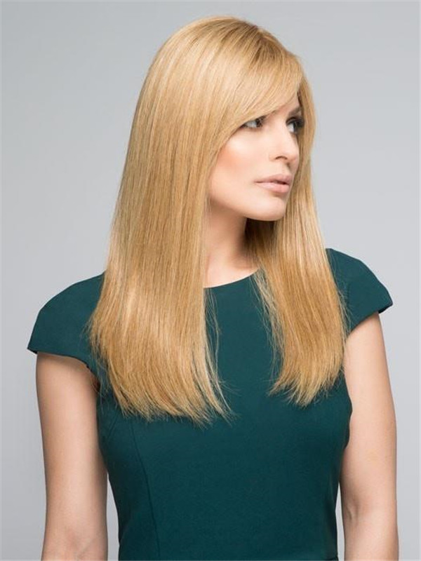 Black And Blonde Lea Remy Human Hair Wig For Women