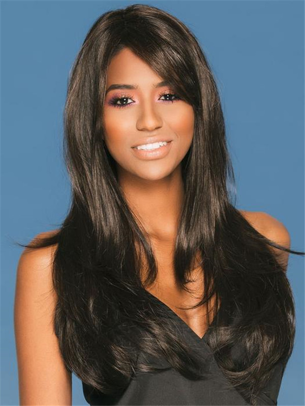 Black And Blonde Mckenzie Synthetic Wig Mono Part For Women