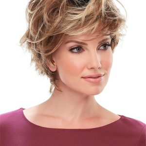 Black And Blonde Meg Synthetic Wig For Women