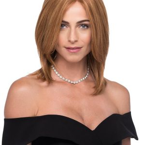 Blonde And Black Human Hair Wig Lace Front For Women