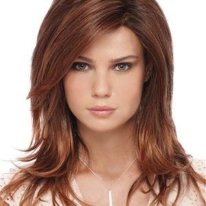 Red And Blonde Orchid Synthetic Lace Front Wig For Women
