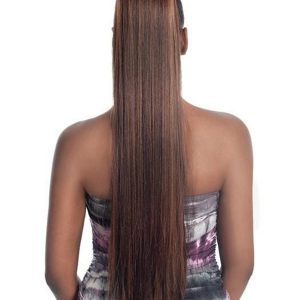Blond And Red Pb-181 Hf Synthetic Ponytail All Hairpieces