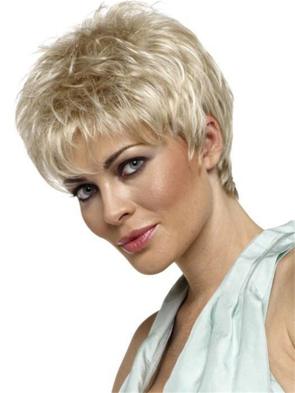 Black And Blonde Penelope Synthetic Wig Basic Cap