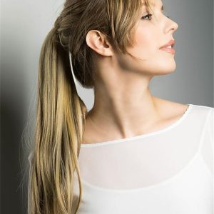 Blond Pony Wrap Synthetic Hair Piece Ponytails