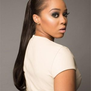 Black Provocative Synthetic Ponytail All Hairpieces