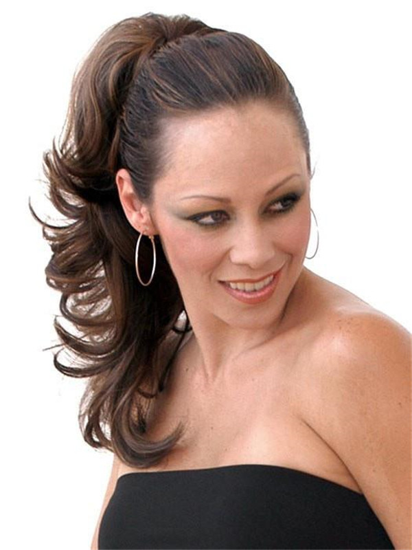 Black And Blond Rampage Synthetic Ponytail All Hairpieces