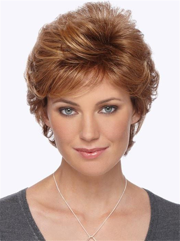 Blonde Rebecca Synthetic Wig Basic Cap For Women