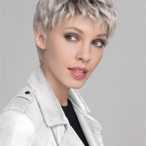 Blond And Red Risk Synthetic Lace Front Wig For Women