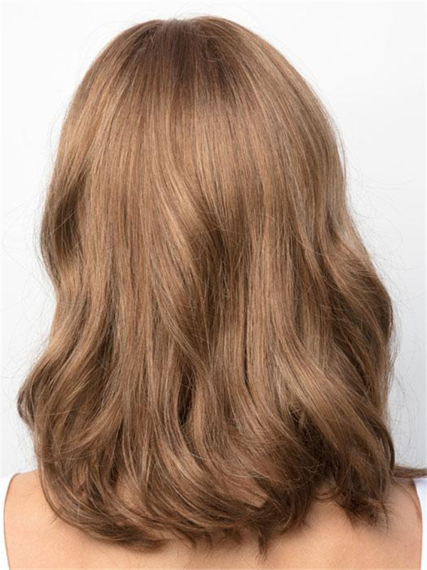 Red And Blonde Synthetic Lace Front Wig For Women