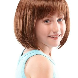 Black And Blond Shiloh Synthetic Wig Mono Part Kids