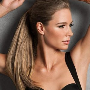 Blond Simply Straight Synthetic Ponytail Wraps