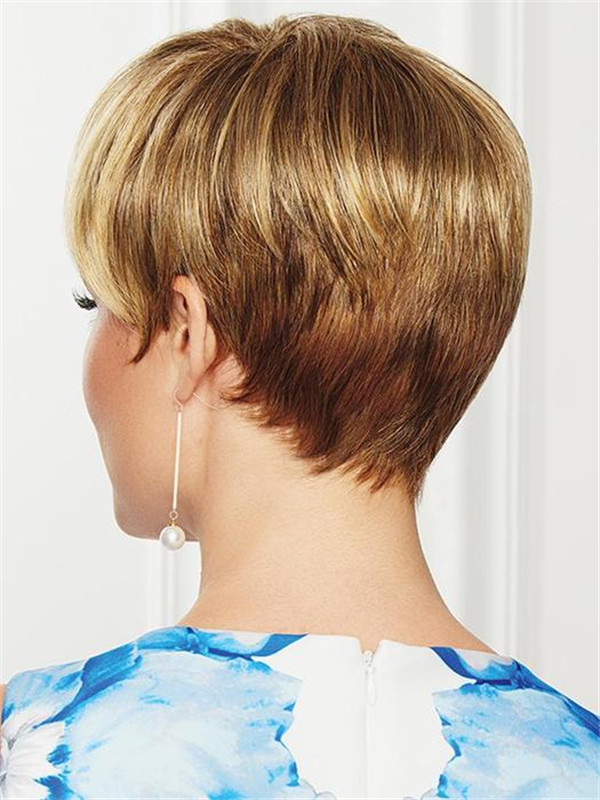 Black And Blonde So Stylish Synthetic Wig For Women