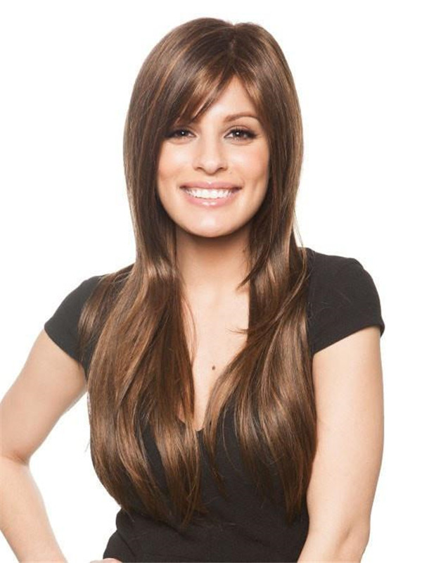 Blonde And Red Stevie Synthetic Wig Rooted For Women