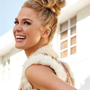 Black And Blond Style-a-do Synthetic Hair Wrap Buns