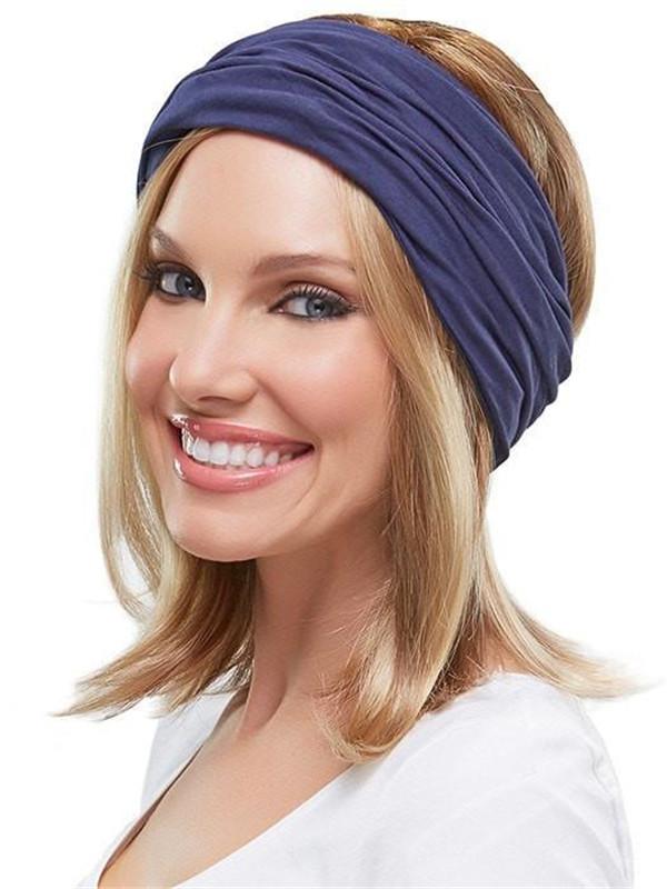 Black And Purple The Softie Boho Beanie Solid Hats Headcovers