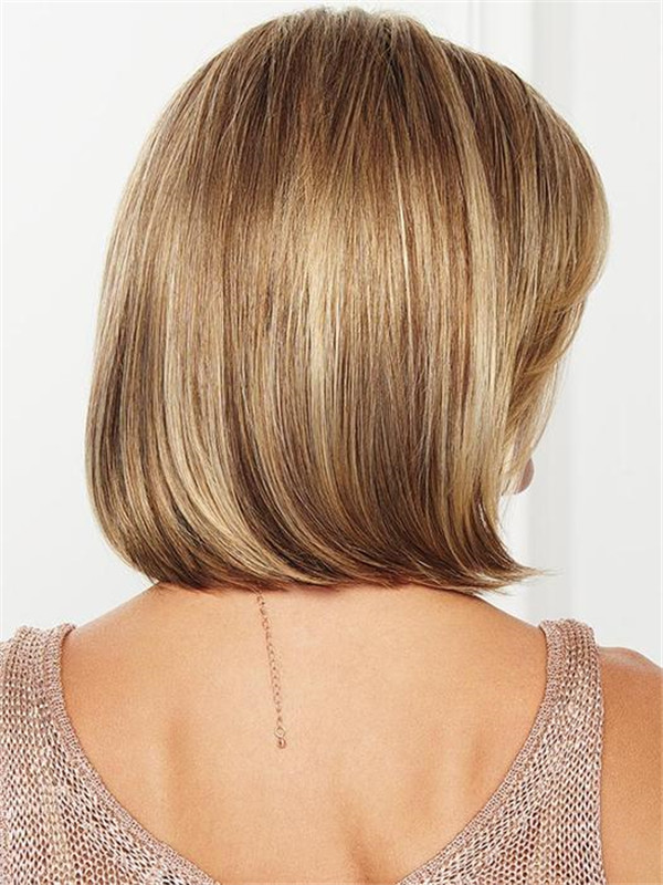 Black And Blonde Timeless Synthetic Lace Front Wig For Women
