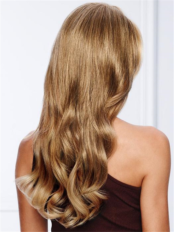 Top Choice Synthetic Hair Topper Top Piece Half Layered