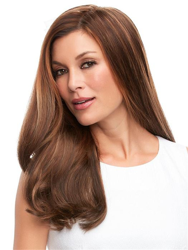 Top Full Remy Human Hair Topper All Hairpieces