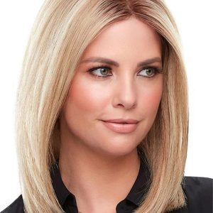 Brown Smart Lace Front Remy Human Hair Topper Half