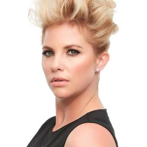 Black And Blond Top This Human Hair Topper All Hairpieces